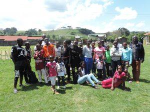 Junior and Senior Youths at Bomas of Nakuru.